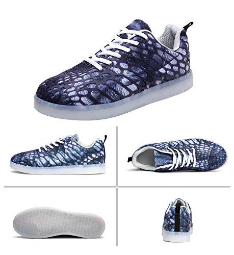LED Up Luminous Shoes Gray Shoes Women LED Shoes HeyYoo For Boys Men Flashing Girls Sneakers Light gTwqnvEIn