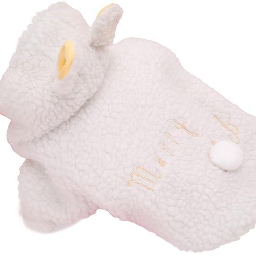 Goodsatar Ovejas invierno caliente rellenado engrosamiento abrigo perro trajes de mascotas ropa (XS,...