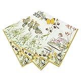 Talking Tables Truly Fairy Paper Napkins 33cm, Multicolor (20 Pack), 33cm x 33cm(TSFAIRY-NAPKIN)