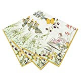 "Talking Tables 13"" Truly Fairy Disposable Napkins for a Birthday Party or Tea Party, Multicolor (20 Pack)"