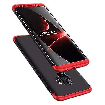 TXLING Funda Samsung Galaxy S9+ Plus Bumper 3 en 1 Estructura 360 Grados Case Ultra-Delgado [Ligera] Anti-rasguños Carcasa para Samsung Galaxy S9+ ...