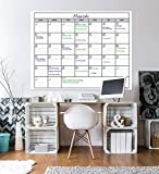 Dry Erase Monthly Large White Board Wall