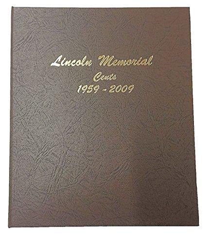 Dansco US Lincoln Memorial Cent Coin Album 1958 - 2009 #7102