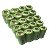 Rechargeable 2/3a battery 1.2v ni-mh battery 1300mAh Count :Pcs (20)