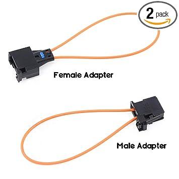 Amazon.com: Swpeet - Juego de 2 conectores macho y hembra de ...