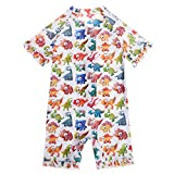 ATTRACO Little Kids One Piece Swimsuits Short