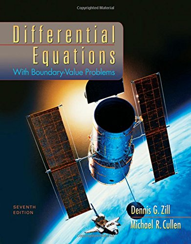 Differential Equations with Boundary-Value Problems (Differential Equations With Boundary Value Problems Solutions)