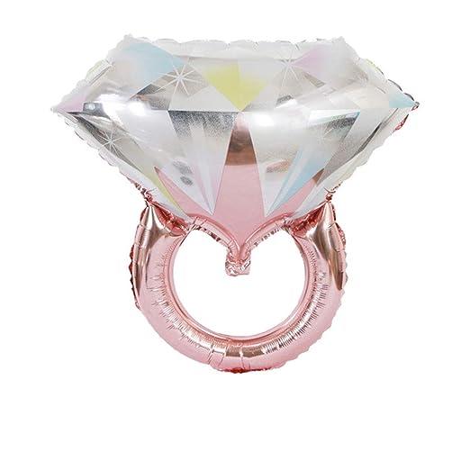 1 globo hinchable con forma de anillo de diamante, ideal para ...