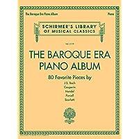 Baroque Era Piano Album - Schirmer's Library of Musical Classics