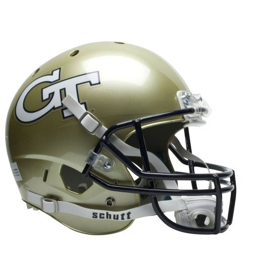 GEORGIA TECH YELLOWJACKETS NCAA REPLICA AIR XP FULL SIZE HELMET by Schutt