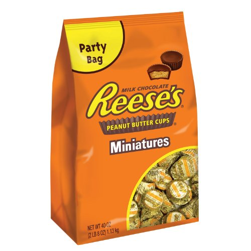 Reese's Peanut Butter Cup Miniatures, 40-Ounce Packages