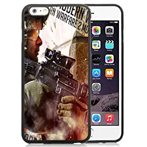 New Personalized Custom Designed For iPhone 6 Plus 5.5 Inch Phone Case For Call of Duty Modern Warfare 2 Art Phone Case Cover