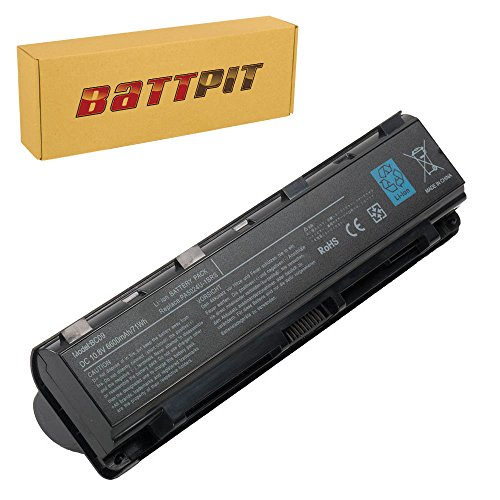 Battpit™ Laptop/Notebook Battery Replacement for Toshiba PA5121U-1BRS (6600 mAh/71Wh)