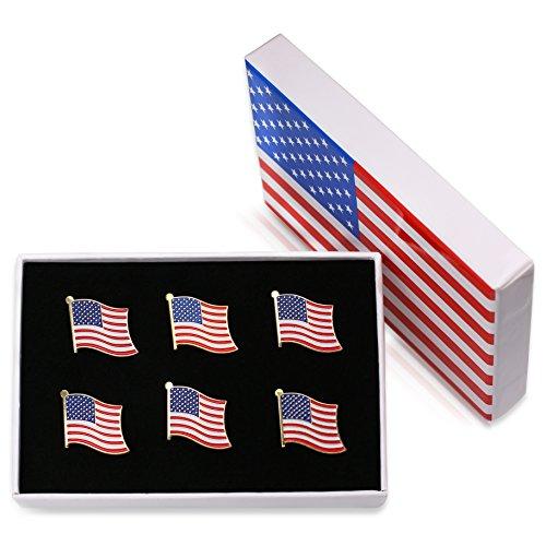 Exquisite American Necktie Lapel Stripes