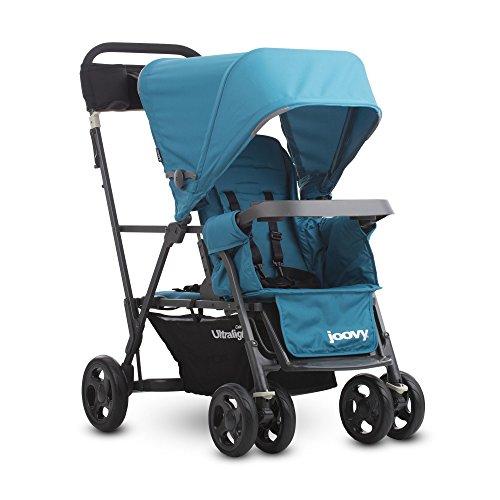 joovy-caboose-ultralight-graphite-stroller-turq