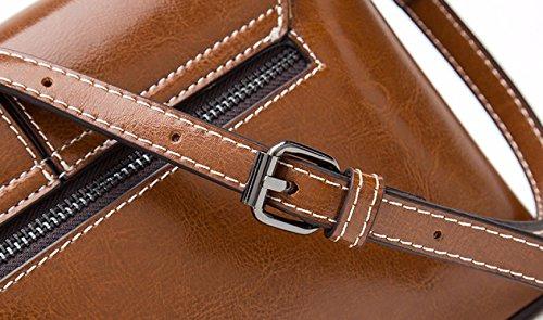 Diagonal Lady Sac Bag Shopping Petit Sac Buckle Casual Sac Brown Bandoulière Fashion à KYOKIM znw1xZdqz
