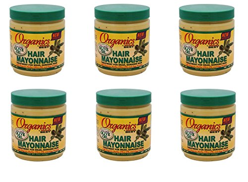 Africa s Best Organics Hair Mayonnaise 15 oz Pack of 6