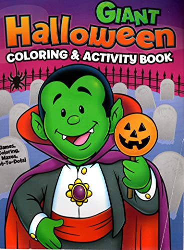 Bendon Publishing Int. Giant Halloween Coloring & Activity Book ()