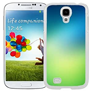Unique and Fashionable Cell Phone Case Design with Fresh Green iOS7 Gradient Galaxy S4 Wallpaper in White