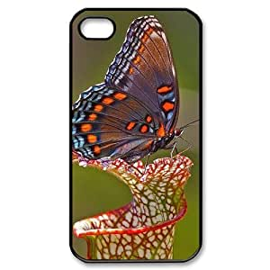 Butterfly Custom Cover Case for Iphone 4,4S,diy phone case ygtg523476 by Maris's Diary