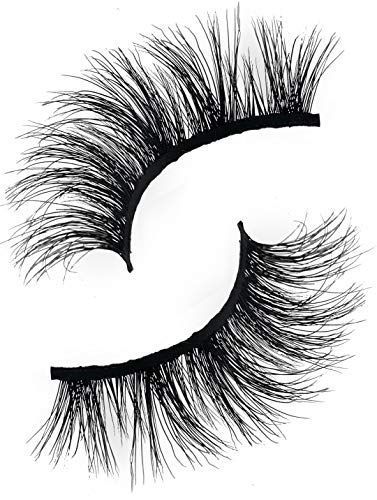 Cosmo 3D Mink Eyelashes | Natural & Dramatic Looking | 100% Handcrafted & Cruelty Free | Reusable (Cosmos Eyelash)