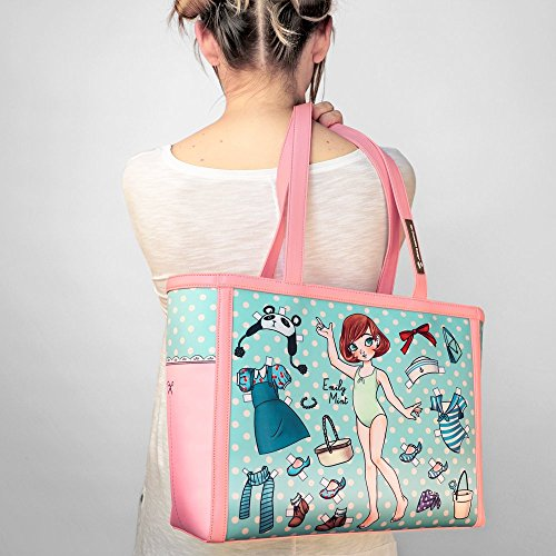 Hot Chocolate Tote Bag Women's Paperdoll Design rZYpzwn8Zx