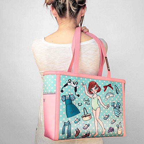 Hot Design Chocolate Women's Bag Paperdoll Tote r0rfg