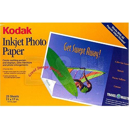 Kodak 1959592 Photo Paper B Size 25 Pk