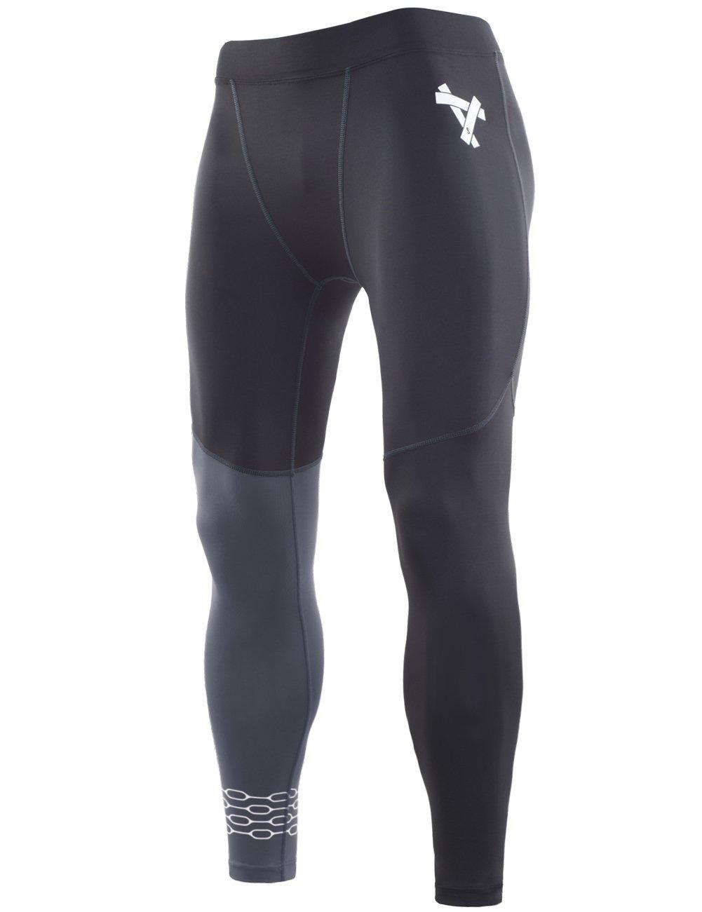 Lavento Men's Compression Pants Baselayer Cool Dry