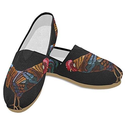 D-story Fashion Sneakers Flats Klassieke Instapper Canvas Schoenen Loafers Multicoloured22