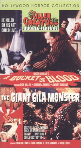 A Bucket of Blood/The Giant Gila Monster [VHS]