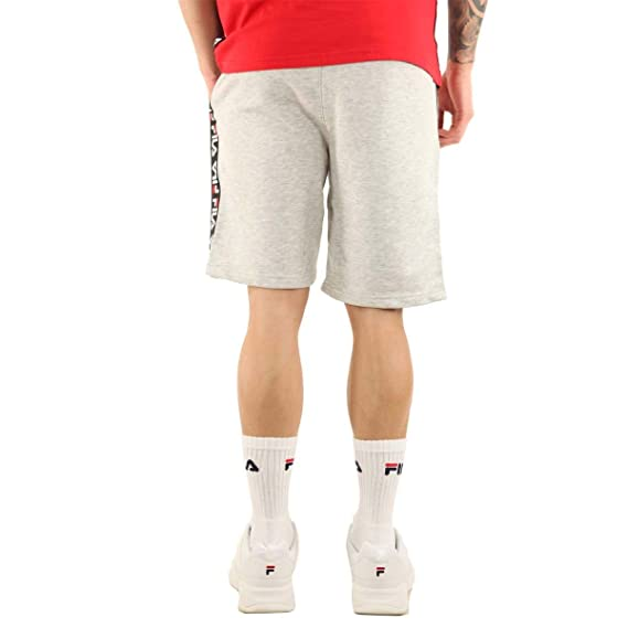 a2c1011a45f9 Fila - Shorts Mens Bermuda Gray Sport Vintage at Amazon Men's Clothing  store: