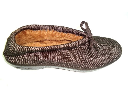 Zapatillas de casa Arcopédico Softl, color marrón. Muy cómodas. Con doble soporte del arco.