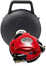 Automatic BBQ Grill Cleaning Robot & Storage Case - Black