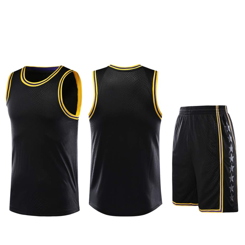ZWXYA NBA Lakers Lebron James 23 Basketball Traje de Ropa: Amazon.es: Deportes y aire libre