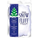 winter wonderland christmas party twinkle fluff decoration white polyester 5 ounces 1 - Fake Snow Decoration