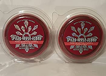 Bath and Body Works 2 Pack Piced Apple Toddy Melt. 0.97 Oz / 27.5 g