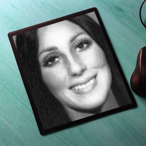 - Seasons Cher - Original Art Mouse Mat #js003