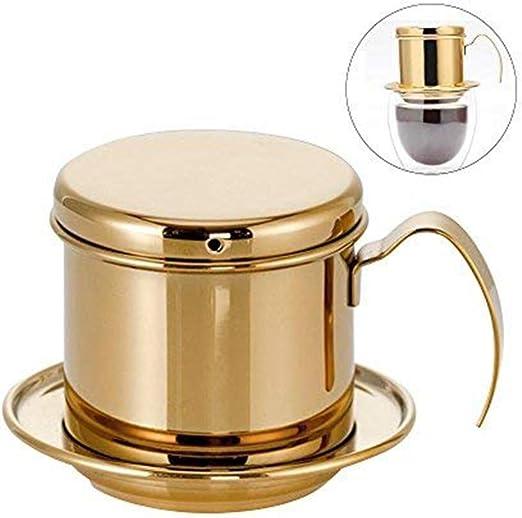 Cafetera olla café vietnamita de acero inoxidable con filtro de ...