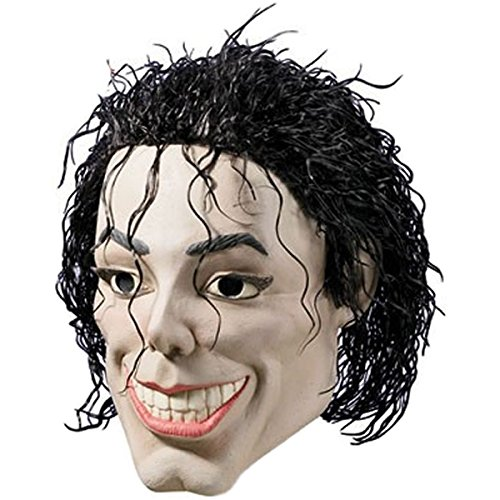 [Pop Star Costume Mask Adult Mens 80s/90s Themed Funny Halloween Fancy Dress] (50s Themed Costumes)