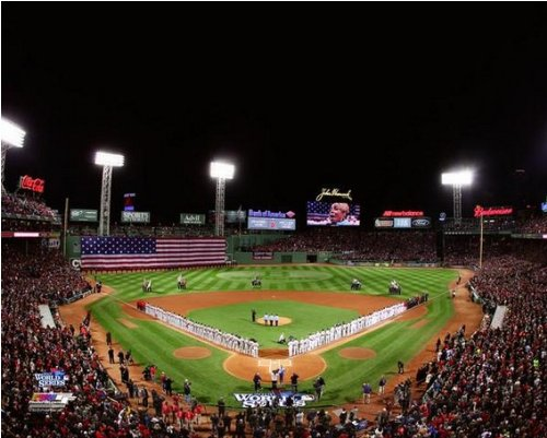 Boston Red Sox 2013 World Series Fenway Park Game 1 Photo 8x10 (Pictures Of Fenway Park)