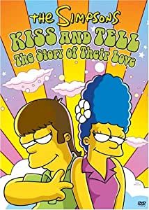 The Simpsons: Kiss and Tell - The Story of Their Love (Bilingual) [Import]