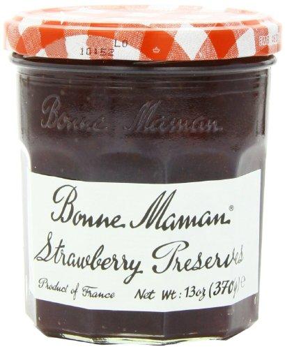 Bonne Maman Strawberry Preserves (Bonne Maman Preserves 13 Oz (Pack of 3) (Strawberry)