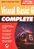 Visual Basic 6 Complete, Steve Brown and Sybex Inc. Staff, 0782124690