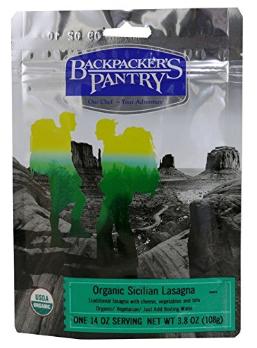 Price comparison product image Backpacker's Pantry Organic Sicilian Lasagna, One Serving Pouch