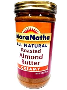 Mara Natha All Natural Roasted Almond, Butter Creamy, 26-Ounce