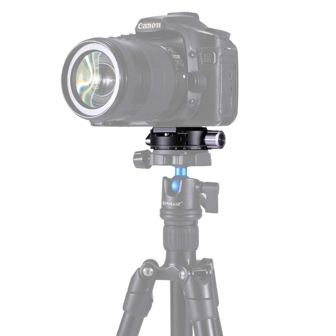 カメラの三脚ヘッドのためのアルミ合金360度パノラマボールヘッド   B07PDRPNVK