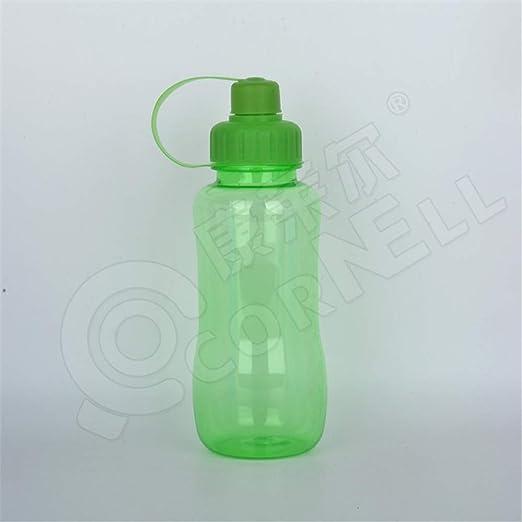 CZPF A Prueba de Fugas Botella de Agua delgadaMúltiples capacidades Estudiante de protección del Medio Ambiente plástico pote Sello a Prueba de Fugas: Amazon.es: Hogar