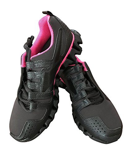 Reebok Womens Zigwild TR ll Running Shoe Coal/solar Pink/black