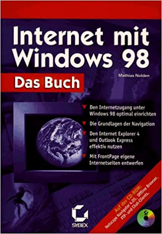 Das Internet Mit Windows 98 Das Buch Den Internetzugang Unter
